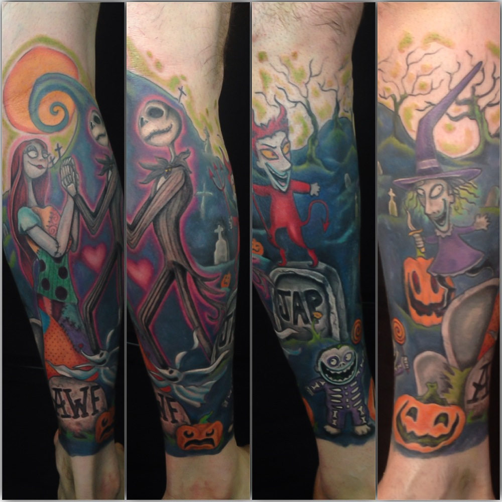 Nightmare Before Christmas Cover-Up – Loki Shane DeFriece